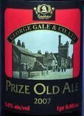 Gales Prize Old Ale &#40;2007&#41; - Old Ale