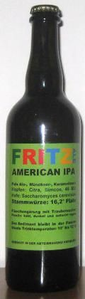 Fritz Ale American IPA - India Pale Ale &#40;IPA&#41;