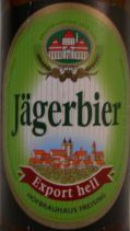Hofbrau Freising Jgerbier Export Hell - Dortmunder/Helles