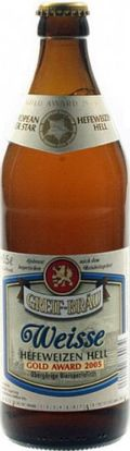 Greif Bru Weisse - German Hefeweizen