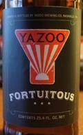 Yazoo Fortuitous - Sour Ale/Wild Ale