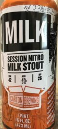 Carton of Milk Stout - Sweet Stout