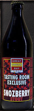 Great South Bay Tasting Room Exclusive #02: Snozberry Stout - Fruit Beer