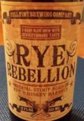 Full Pint Rye Rebellion - Imperial Stout