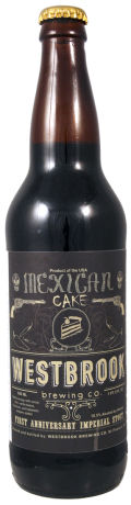 Westbrook Mexican Cake 1st Anniversary Imperial Stout - Imperial Stout