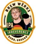 Brew Wrks Irreverence IPA - India Pale Ale &#40;IPA&#41;