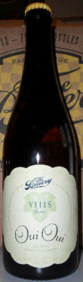 The Bruery Vitis Series: Oui Oui - Sour Ale/Wild Ale