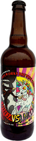 Pipeworks Ninja vs. Unicorn Double IPA - Imperial/Double IPA
