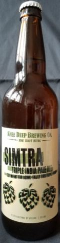 Knee Deep Simtra Triple IPA - Imperial/Double IPA