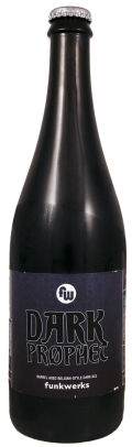 Funkwerks Dark Prphet - Belgian Strong Ale