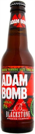 Blackstone Adam Bomb IPA - India Pale Ale &#40;IPA&#41;