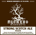 Munkebo Mikrobryg Alstrk Strong Scotch Ale - Scotch Ale