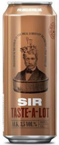 Brutal Brewing Sir Taste-a-Lot - Premium Lager