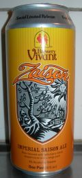 Brewery Vivant Zaison - Saison