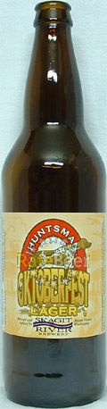 Skagit River Huntsman Oktoberfest Lager - Oktoberfest/Mrzen