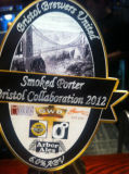 Bristol Brewers United Bristol Collaboration 2012 Smoked Porter - Porter