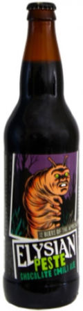 Elysian 12 Beers of Apocalypse #4 - Peste Chocolate Chili Ale - Spice/Herb/Vegetable