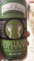 Tired Hands HopHands - American Pale Ale