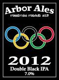 Arbor FF #13 - 2012 Double Black IPA - Black IPA