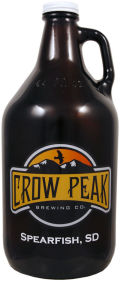 Crow Peak Black Hills Black Ale - Black IPA