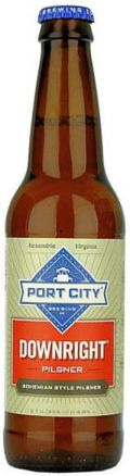 Port City Downright Pilsner - Pilsener