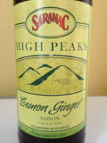 Saranac High Peaks Lemon Ginger - Saison