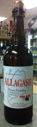 Allagash/Maine Beer/Rising Tide Prince Tuesday - Specialty Grain
