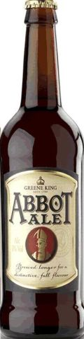 Greene King Abbot Ale &#40;Filtered&#41; - Premium Bitter/ESB