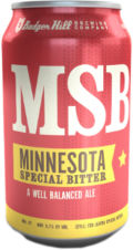 Badger Hill MSB &#40;Minnesota Special Bitter&#41; - Premium Bitter/ESB