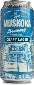 Muskoka Craft Lager - Pale Lager