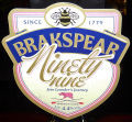 Brakspear Ninety Nine - Golden Ale/Blond Ale