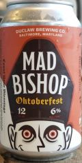 DuClaw Mad Bishop - Oktoberfest/Mrzen