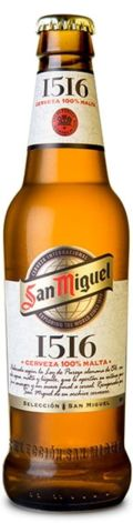 San Miguel 1516 - Pale Lager