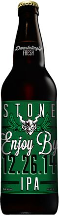 Stone Enjoy By IPA - Imperial/Double IPA
