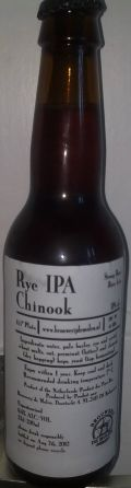 De Molen Rye IPA Chinook - India Pale Ale &#40;IPA&#41;