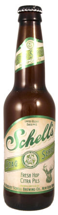 Schell Stag Series #6 - Fresh Hop Citra Pils - Pilsener