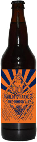 Pike Harlots Harvest Pumpkin Ale - Spice/Herb/Vegetable