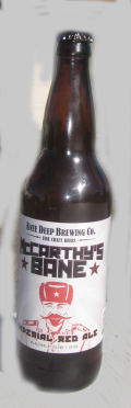 Knee Deep McCarthys Bane Imperial Red Ale - American Strong Ale 