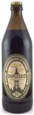 La Fabrique Duplessis - Foreign Stout