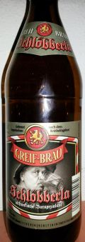 Greif Bru Schlbberla - Zwickel/Keller/Landbier