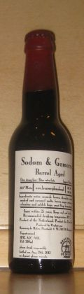 De Molen Sodom & Gomorra Barrel Aged - Imperial Stout