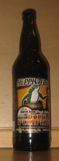 Hoppin Frog Barrel Aged Frogs Hollow Double Pumpkin - Spice/Herb/Vegetable