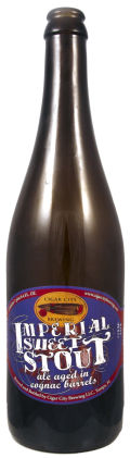 Cigar City Cognac Barrel-aged Imperial Sweet Stout - Sweet Stout