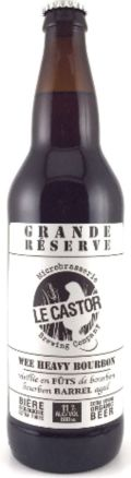 Le Castor Wee Heavy Bourbon Grande Rserve - Scotch Ale