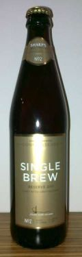 Sharps Single Brew Reserve 2011 - Golden Ale/Blond Ale