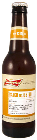 Budweiser Project Twelve - Batch 63118 &#40;St Louis&#41; - Pilsener