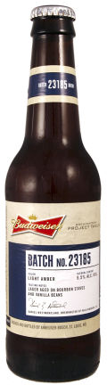 Budweiser Project Twelve - Batch 23185 &#40;Williamsburg&#41; - Premium Lager