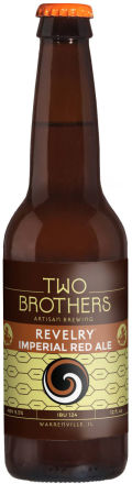 Two Brothers Revelry Imperial Red Ale - American Strong Ale 