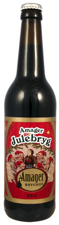 Amager Julebryg 2012 - Brown Ale