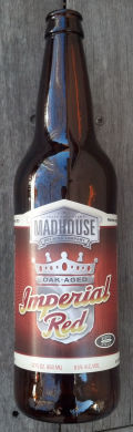 Madhouse Venture Series Oak Aged Imperial Red  - American Strong Ale 